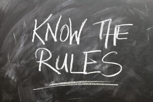 Poznaj zasady - tablica
